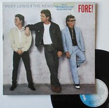 """Vinyle 33T Huey Lewis and the News  """"Fore !"""""""