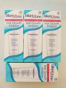 4 Bikini Zone Hair Growth Inhibitor - Sensitive Formula - 1oz Each