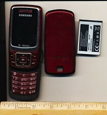 Samsung SGH T239 - Red (T-Mobile) Cellular Phone - Used - Works