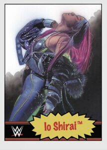 TOPPS WWE LIVING SET CARD LO SHIRAL #74 ONLINE EXCLUSIVE LIMITED EDITION