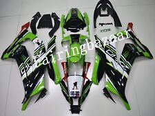 Fit for ZX10R 2011-2015 Green Black White Red ABS Injection Bodywork Fairing Kit