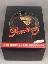 Smoking 24 Bklts 110 Mm King sz Rolling Paper W/Filters & FREE GIFT Blunt Magic