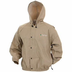 Frogg Toggs Pro-Lite Rain Jacket PL62111 Waterproof Breathable & Free Stuff Sack