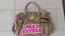 Pauls Boutique large leopard print bag brand new International Buyers Welcome