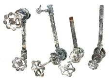 LOT Antique WATER FAUCET KNOBS PIPES VALVES HANDLE STEAMPUNK INDUSTRIAL ART