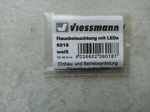 "Viessmanns Zubehör Packung HO  Nr.6018 ""Hausbeleuchtung mit Leds"""