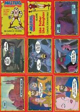 MASTERS OF THE UNIVERSE 1984 TOPPS BASE CARD SET OF 99 CH