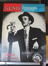Cedric - Special English Issue - Genii Magicians Magazine Nov 1954