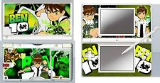 nintendo DS Lite - BEN 10 - 4 Piece Decal / Sticker Skin vinyl cover