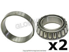 BMW E21 REAR Differential Output Shaft Carrier Bearing Set of 2 SKF +WARRANTY