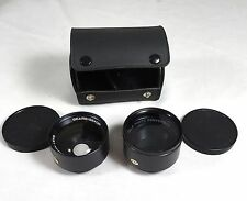 Sears Sekor Wide Angle and Telephoto Conversion lens set for sears Auto 500