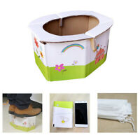Kids Portable folding potty seat for girl or boy - baby travel toilet training
