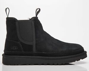 UGG Neumel Chelsea Men's Black Casual Lifestyle Warm Fall Winter Shoes Boots