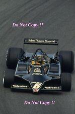 Ronnie Peterson JPS Lotus 79 Swedish Grand Prix 1978 Photograph 5