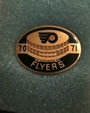 1970 1971  Philadelphia Flyers Press Media Pin In Original Box