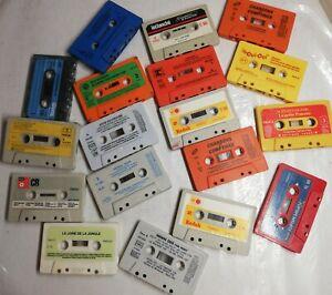 Lot anciennes cassettes audio Le Livre De La Jungle Anne Sylvestre Bach........