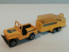 Willy's Jeep & Trailer Gliding Club Matchbox Superfast TP7 Made in England 1976