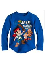 Disney Store Jake and the Never Land Pirates Thermal T Shirt  size 4