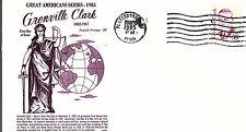 GRENVILLE CLARK - 1867 -  GAMM FDC - 1985