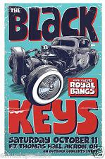 BLACK KEYS / ROYAL BANGS 2008 AKRON, OHIO CONCERT TOUR POSTER