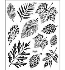 Blätter / Laub -  Stempel - Clearstamp   von ViVa Decor  (4003.164.00)