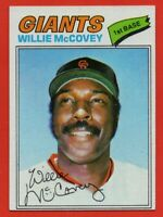 1977 Topps #547 Willie McCovey Near Mint+ San Francisco Giants FREE SHIPPING