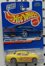 1ST EDITION SHOE BOX STREET OUTLAWS RACE CAR 26 YELLOW 2000 FORD HW HOT WHEELS