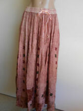 Rayon Floral Maxi Skirts for Women