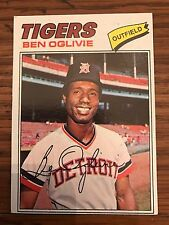 1977 Topps Ben Oglivie Detroit Tigers 122