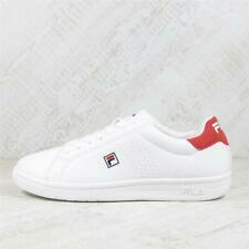 Mens Fila Crosscourt 2 F Low White/Red Trainers (PEF3) £59.99