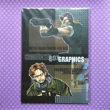 "Used Doujinshi: Metal Gear Solid 2 ""CORRUGATED BOX GRAPHICS"" Snake JAPAN"
