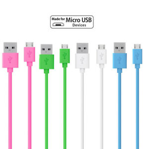 1M 2M 3M Micro USB Data Charger Cable For Samsung Galaxy Huawei LG Sony PS4
