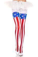 Bandera Estadounidense Estilo Oscuras Diseñador Medias Lencería Sexy P7067