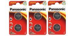 Panasonic  Lot de 6  piles lithium 3v CR2025