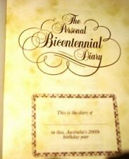 Australian Bi Centennial Diary 1988