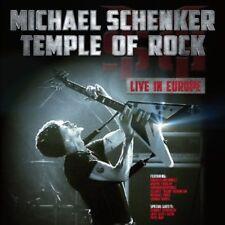 Temple Of Rock: Live In Europe - Michael Schenker (2013, CD NUEVO)3 DISC SET