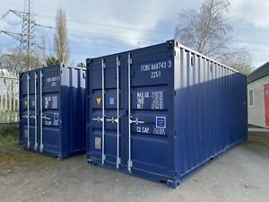 Single Trip 20ft Shipping Container Storage Container Secure Store Site Cabin