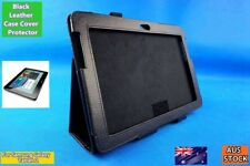 NEW BLACK PU Leather Case Cover with Stand - Suits Samsung Galaxy Tab 2 P5100