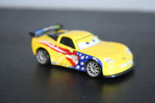 Disney Pixar Cars 2 Die-Cast Vehicle  #7 JEFF GORVETTE 2010 Series #1 Mattel
