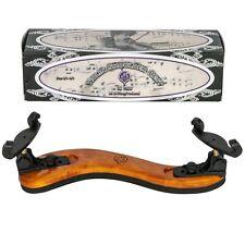 MI&VI Collapsible Violin Shoulder Rest 4/4-3/4 Real Wood Adjustable Support Grip