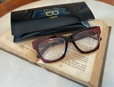 Cynthia Bailey Retro Modified Square Red Marble +3.0 Readers & Case Fashion New