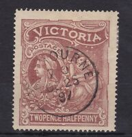 V41) Victoria 1897 Diamond Jubilee 2/6d Red Brown Hospital  Charity stamp
