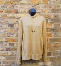 Ralph Lauren Men's Beige Cashmere Hooded Holes Distressed Sweater Size M