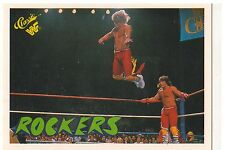 "1990 WWF Classic Games ""The Rockers"" Trading Card (Mint) {4075}"