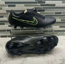 Men's Nike Phantom Venom Elite FG, Soccer Cleats, Black Volt, Size 6, AO7540-007