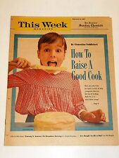 THIS WEEK - 2/24/1963 Norway's Answer to Drunk Drivers, How to Raise a Good Cook