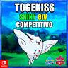 Togekiss 🔥 Ultra Shiny 🔥 6 iv Pokémon ⚔ Sword & Shield ⚔ Competitivo