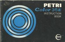 Kuribayashi Petri Color 35 E Instruction Manual