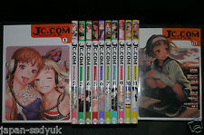 JAPAN manga: JC.COM 1~12 Complete Set (Cover Art / Range Murata)