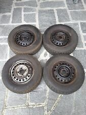 4 gomme chiodate Fulda Kristall 2 con cerchio in ferro - 175/70 R13